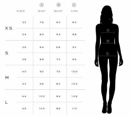 μεγεθολογιο οδηγος μεγεθων για γυναικες